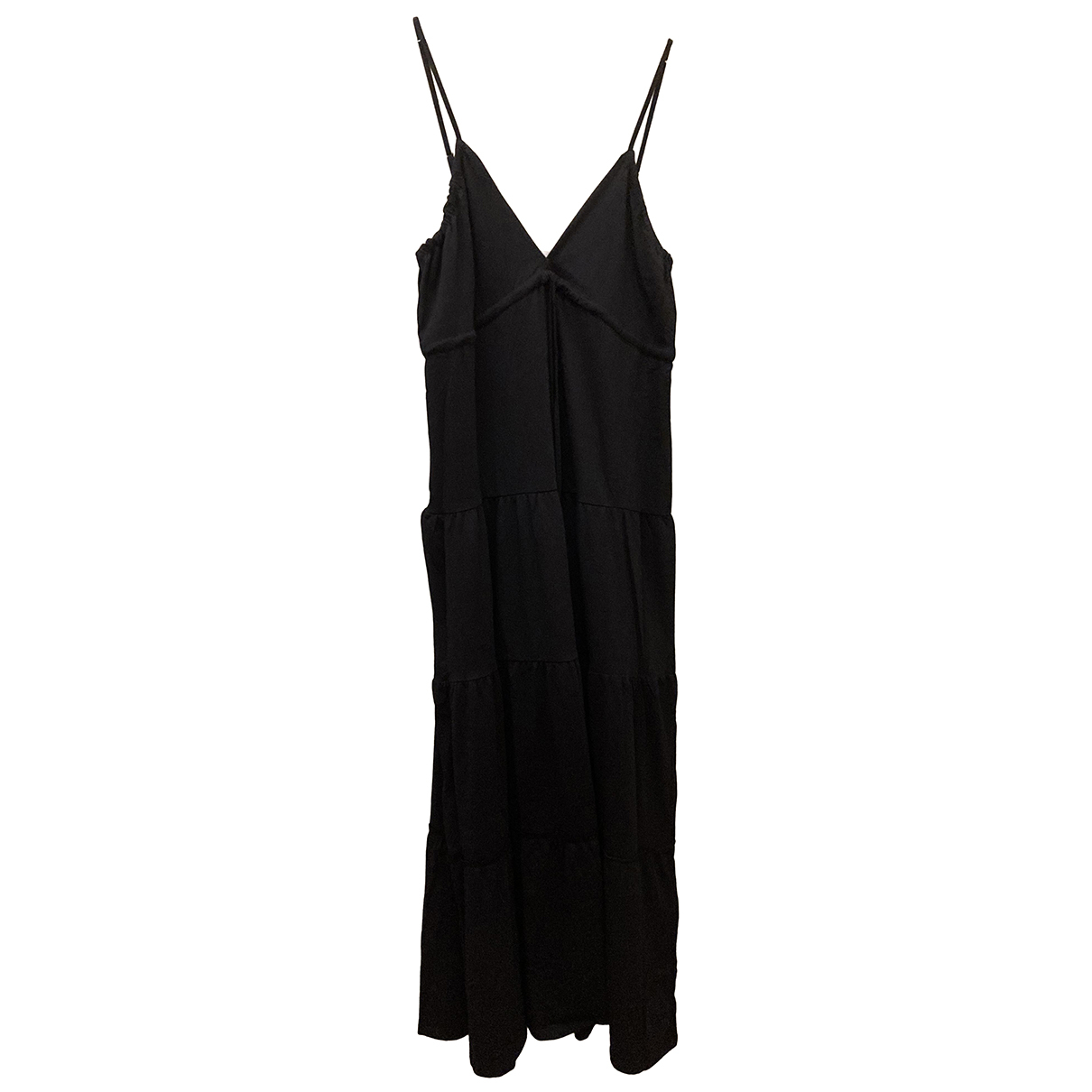 Replay \N Black Cotton dress for Women M International