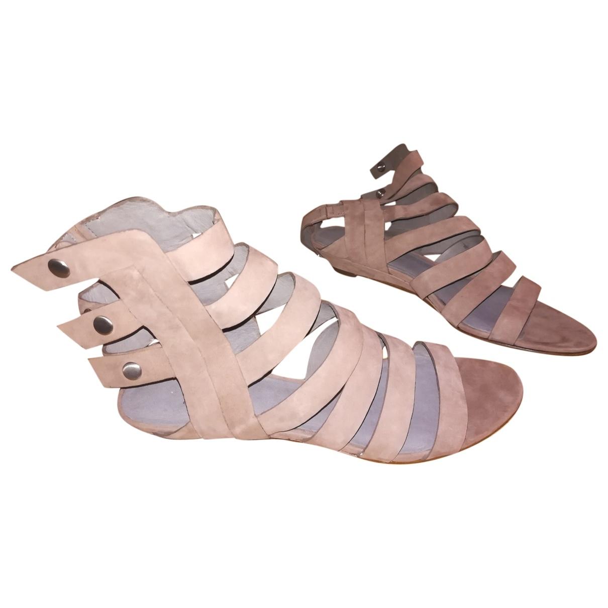 Sigerson Morrison \N Beige Suede Sandals for Women 7 US