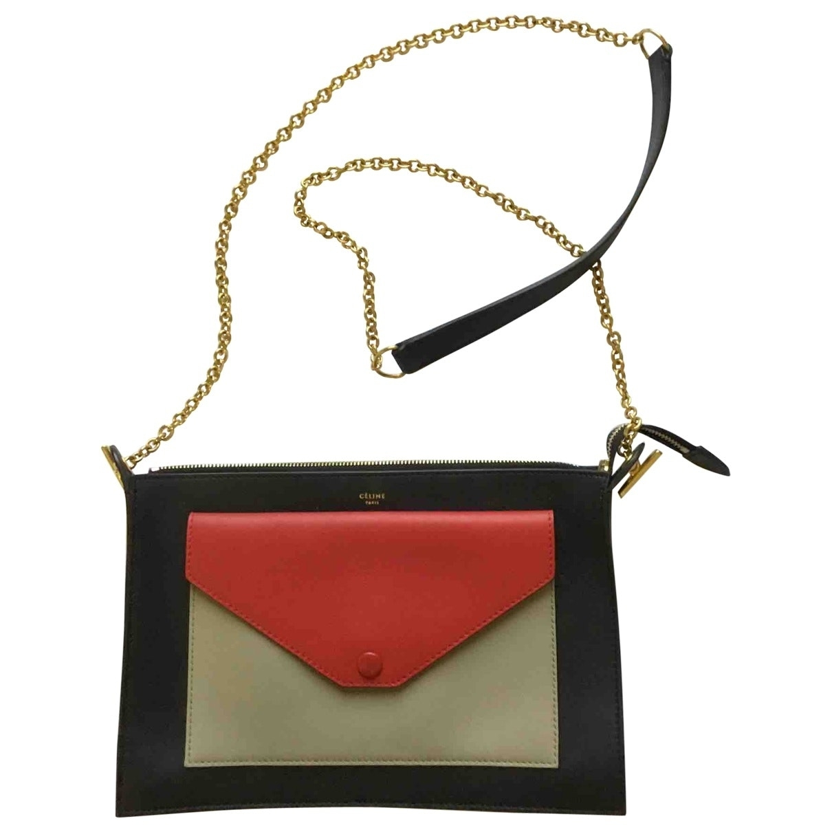 Celine \N Handtasche in  Bunt Leder