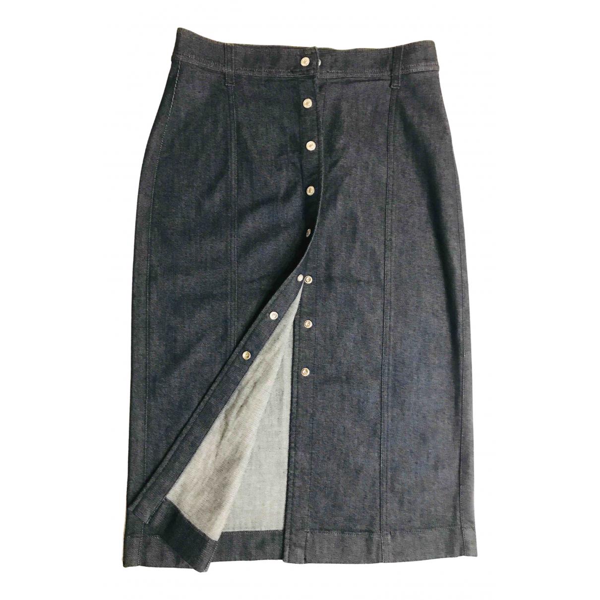 7 For All Mankind N Blue Denim - Jeans skirt for Women M International