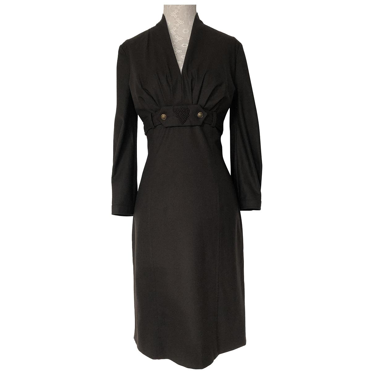 Gucci \N Kleid in  Braun Wolle