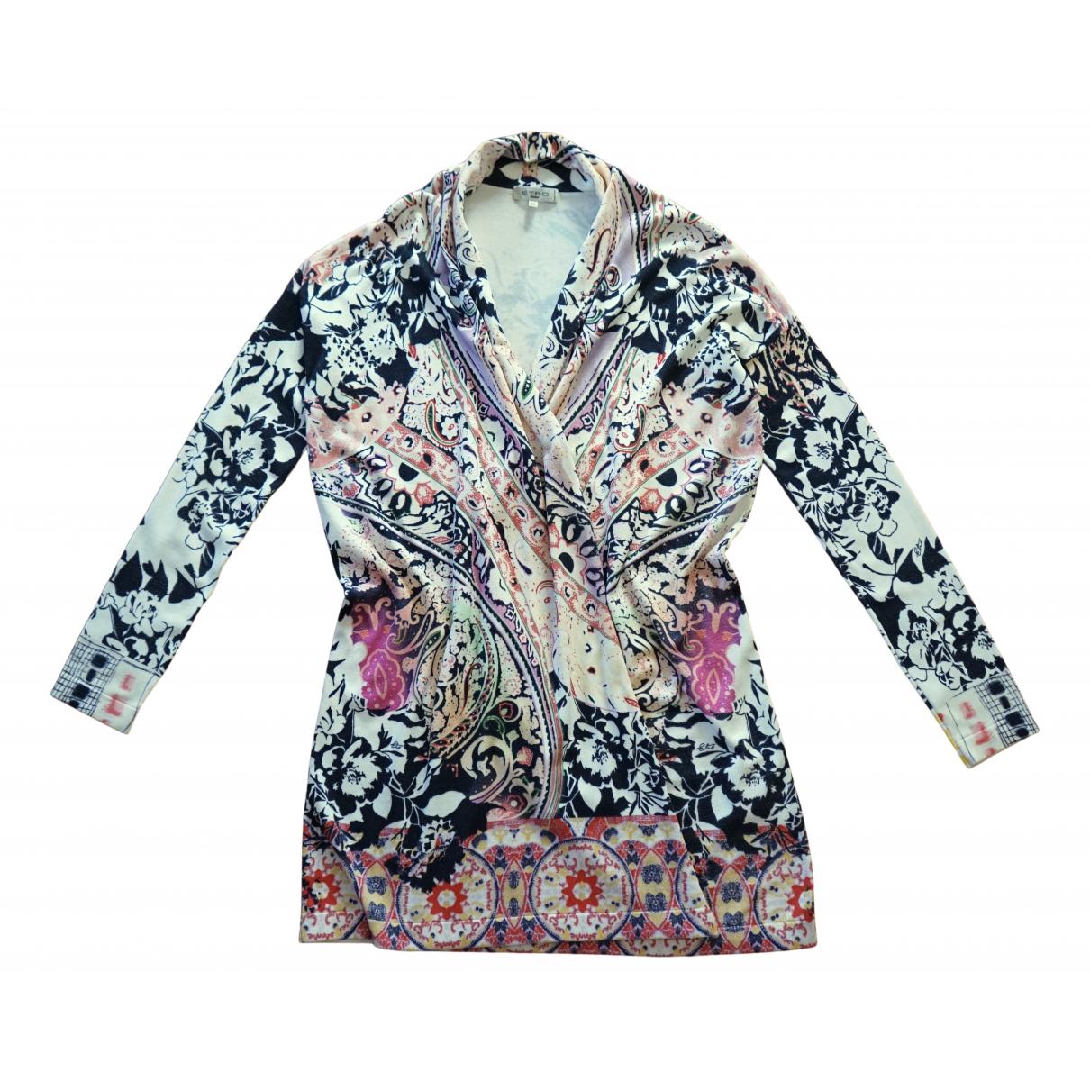 Etro N Multicolour Silk Knitwear for Women 42 IT