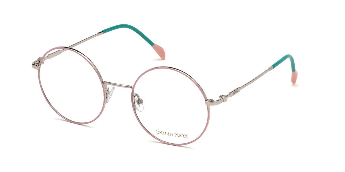 Emilio Pucci EP5088 020 Women's Glasses Grey Size 51 - Free Lenses - HSA/FSA Insurance - Blue Light Block Available