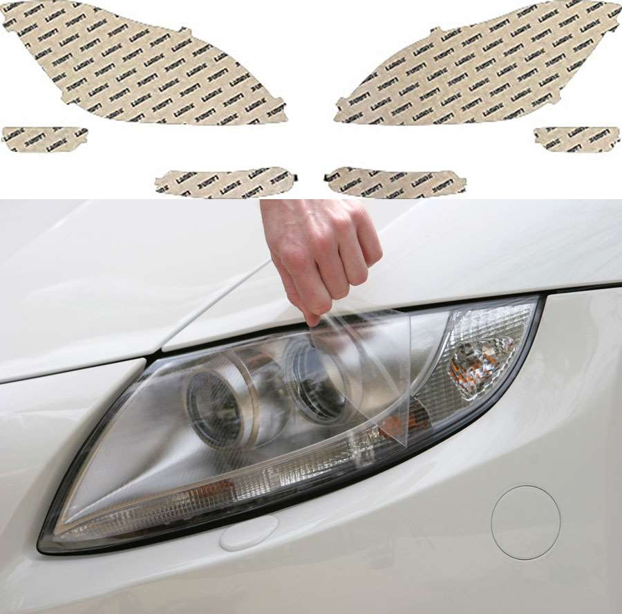 Mercedes CLS-Class 12-14 Clear Headlight Covers Lamin-X MB037CL