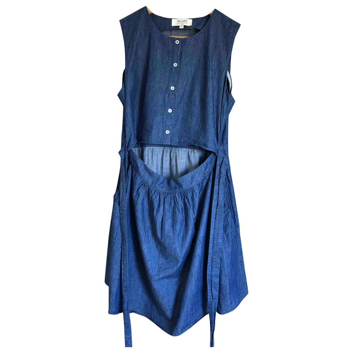 Balzac Paris \N Kleid in  Blau Baumwolle
