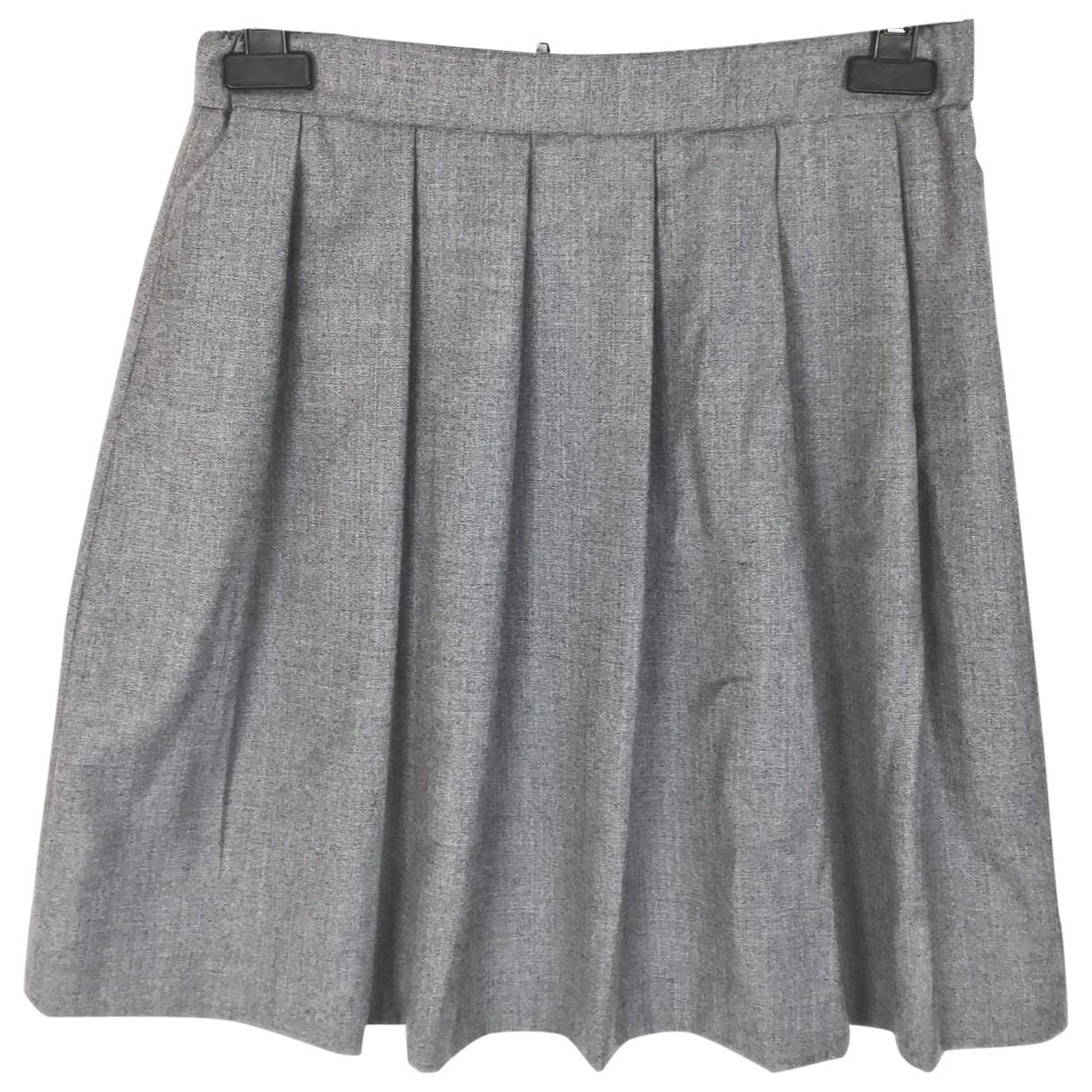 Selected \N Grey Wool skirt for Women S International