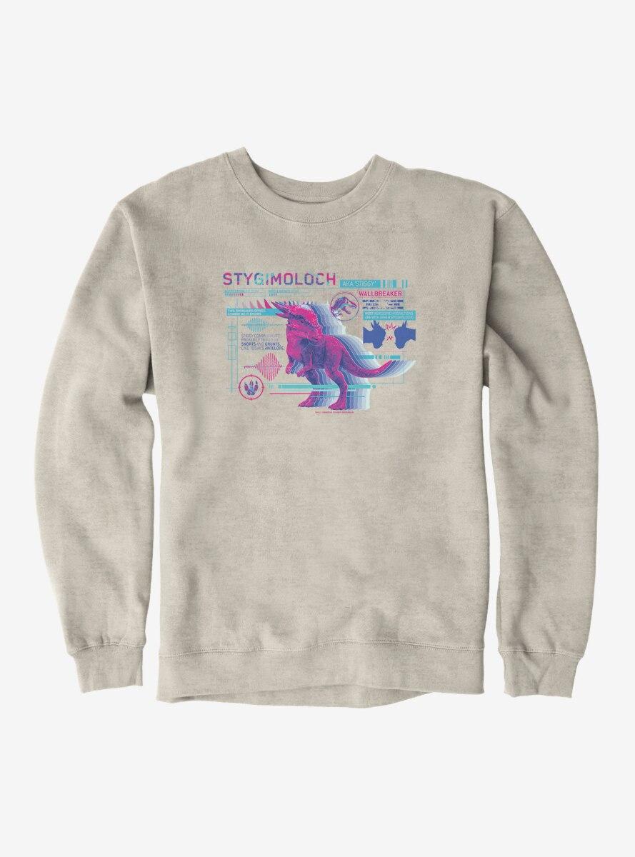 Jurassic World Stygimoloch Specs Sweatshirt