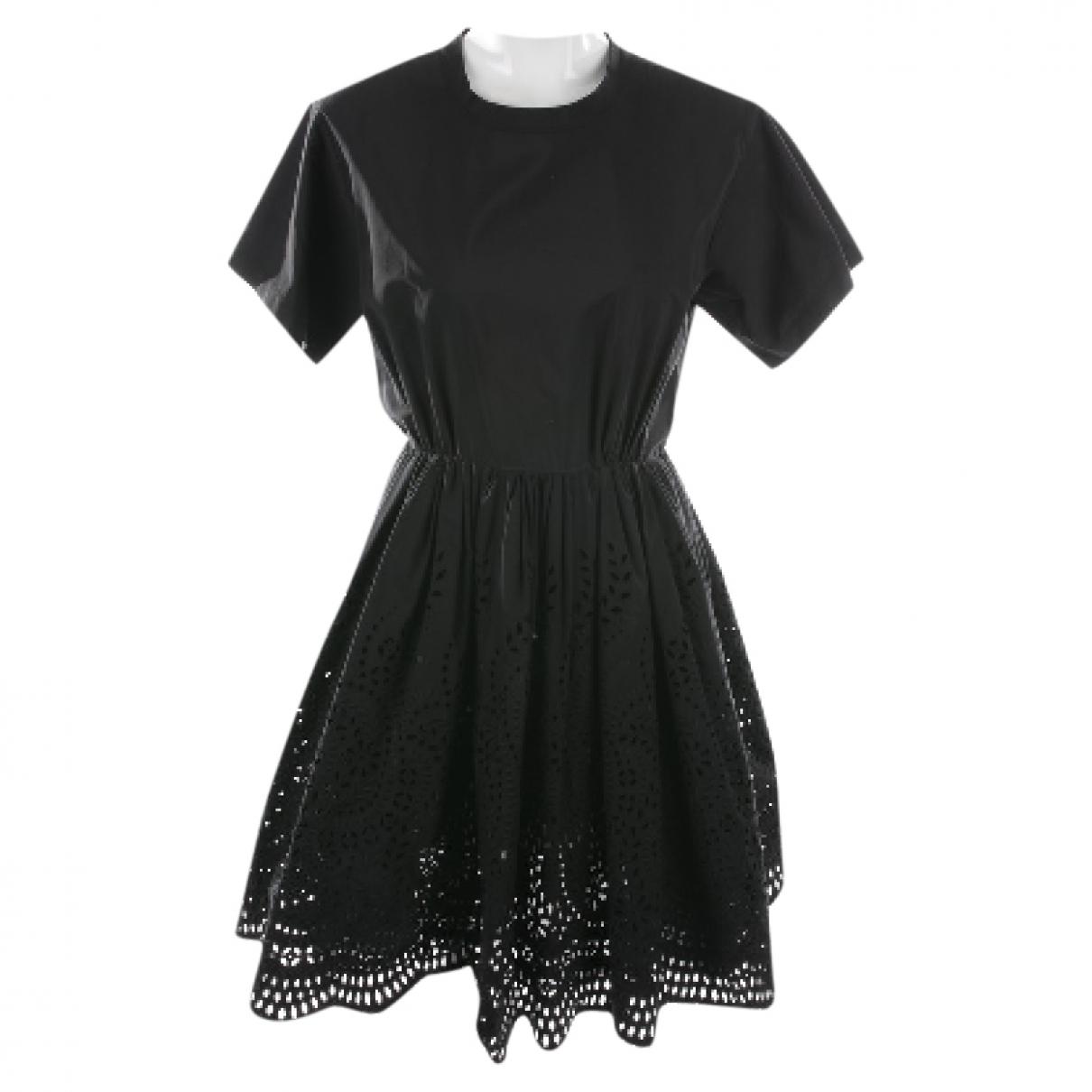 Miu Miu \N Kleid in  Schwarz Baumwolle