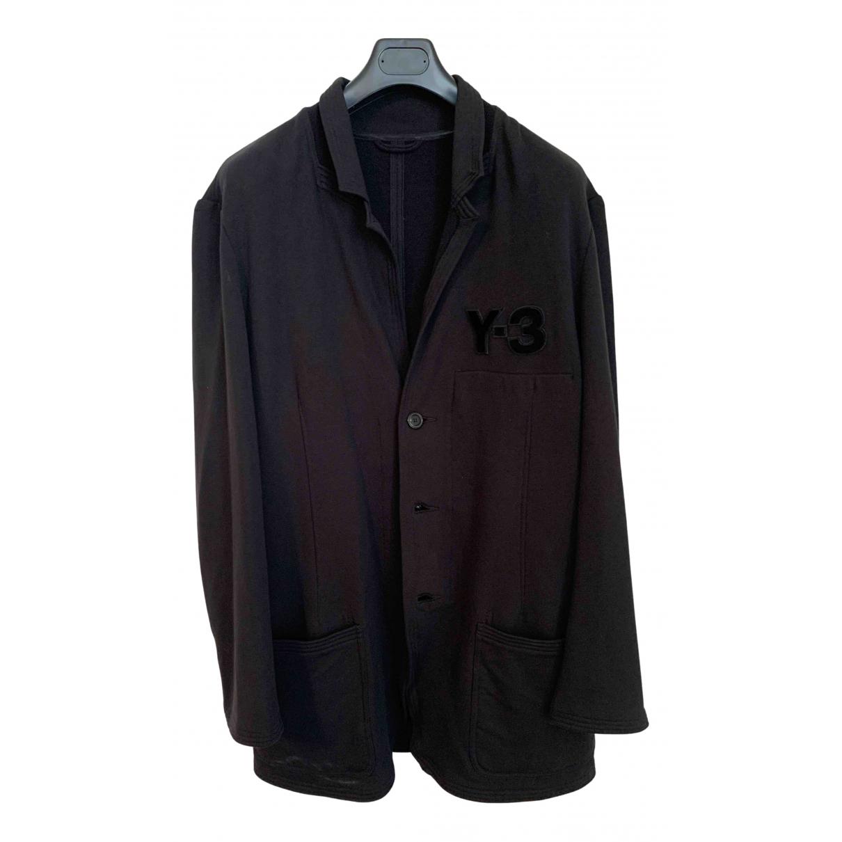 Y-3 - Vestes.Blousons   pour homme en coton - noir