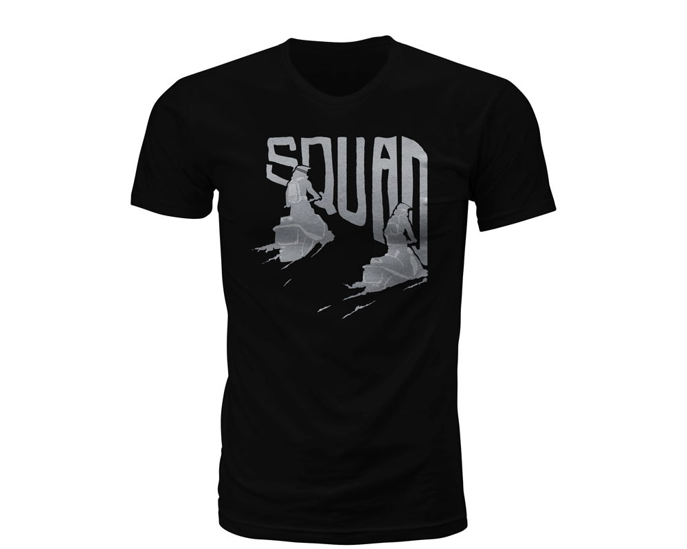 Fly Racing 351-07902X Squad Tee