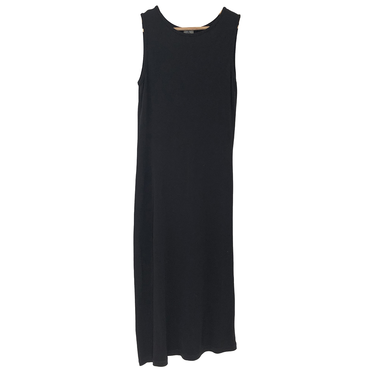 Calvin Klein \N Kleid in  Schwarz Viskose
