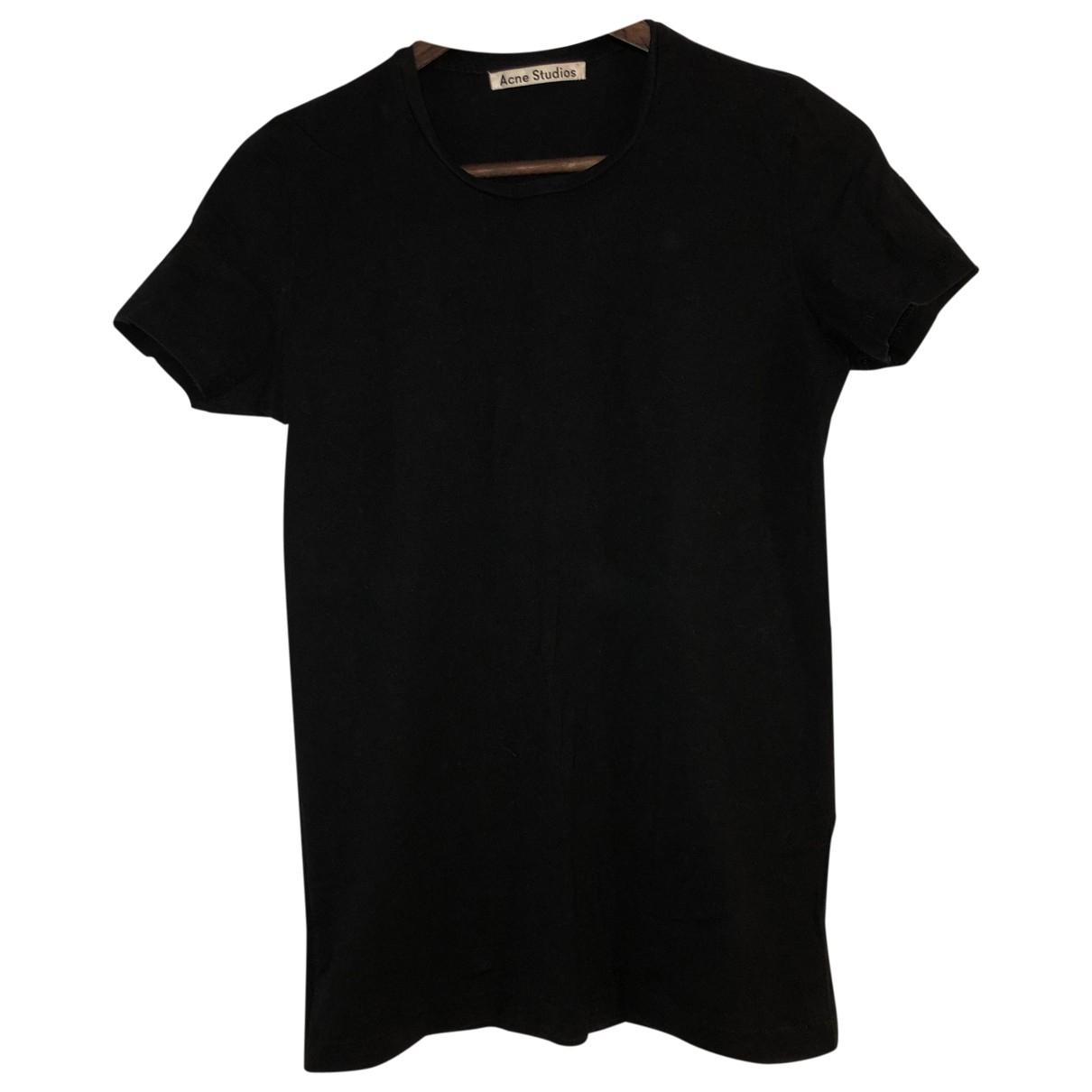 Acne Studios \N Black Cotton  top for Women M International