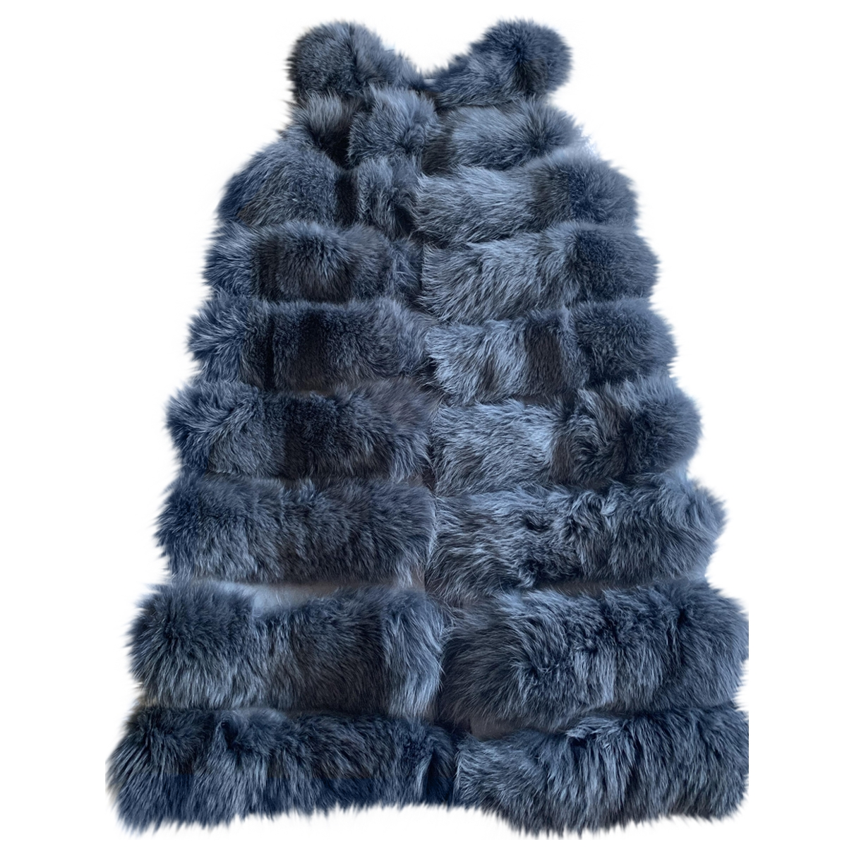 Liska \N Grey Fox coat for Women L International