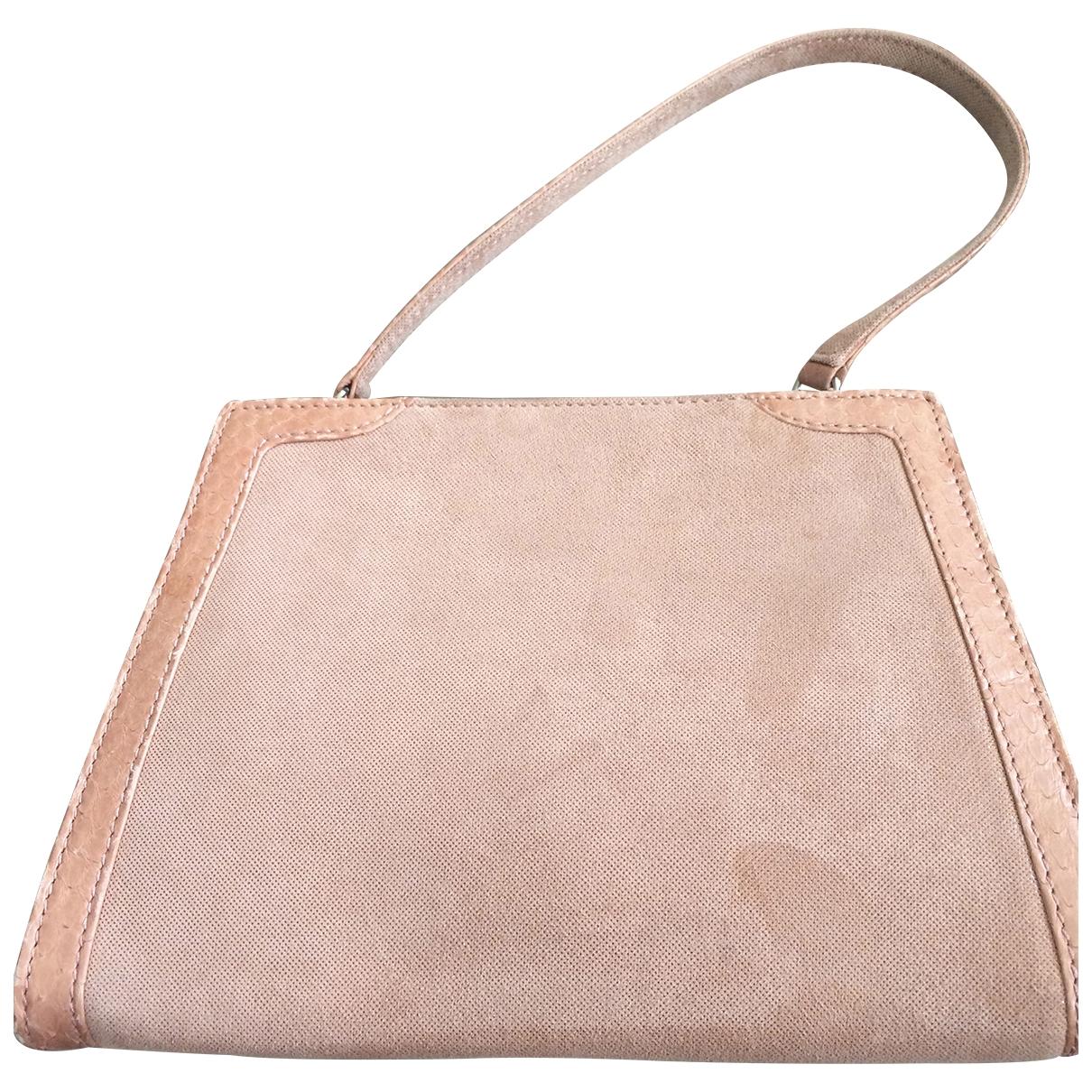 Loewe \N Pink Suede handbag for Women \N