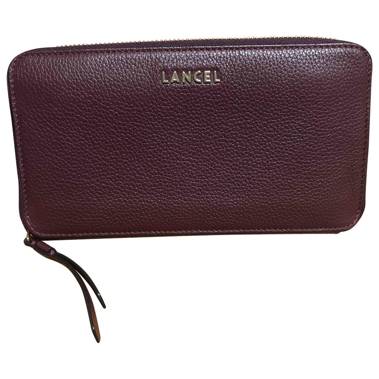 Lancel - Portefeuille Lettrines pour femme en cuir