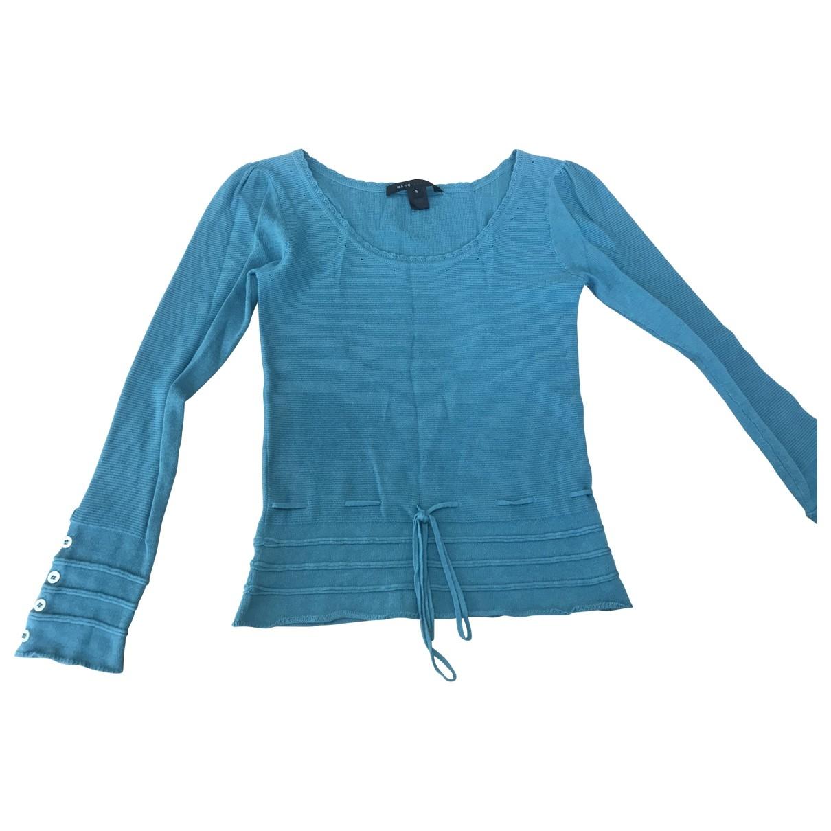 Marc By Marc Jacobs - Pull   pour femme en laine - turquoise