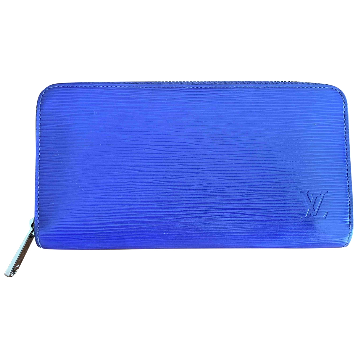 Louis Vuitton Zippy Blue Leather wallet for Women \N