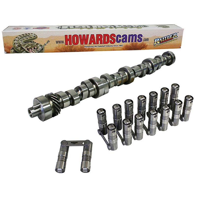 Hydraulic Roller Rattler Camshaft & Lifter Kit; 1968 - 1995 Ford 429-460 1800 to 5200 Howards Cams CL248025-09 CL248025-09