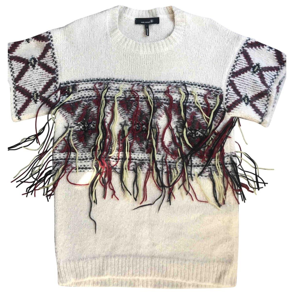 Isabel Marant \N Ecru Wool  top for Women M