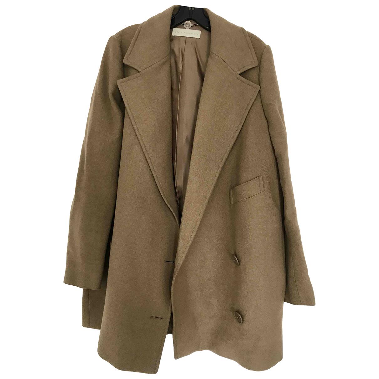 Stella Mccartney N Camel coat for Women 46 IT