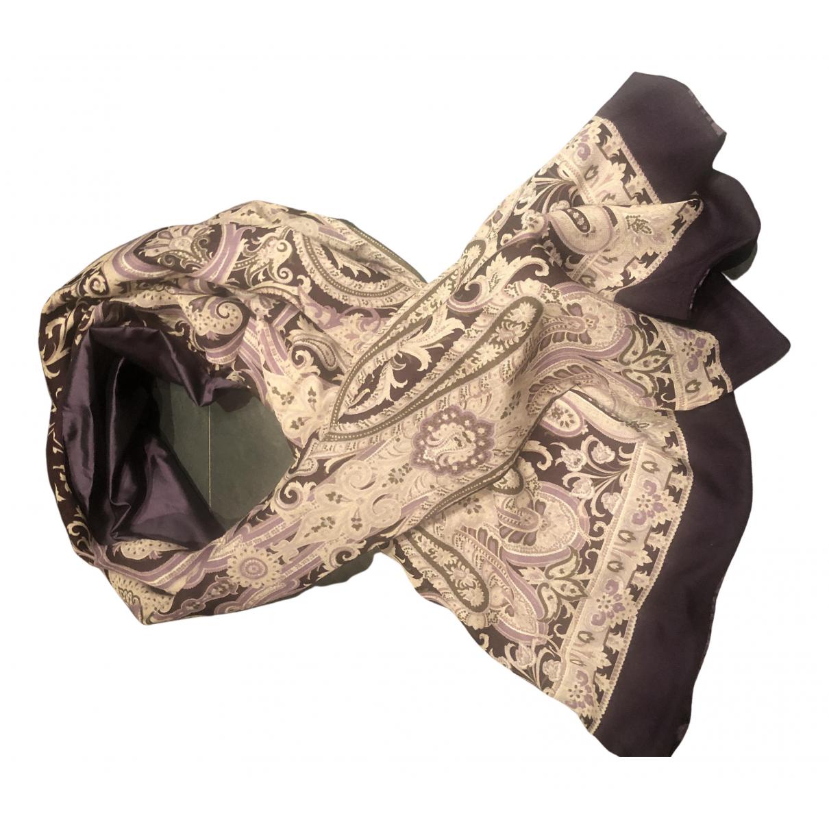 Max Mara - Foulard   pour femme en soie - multicolore