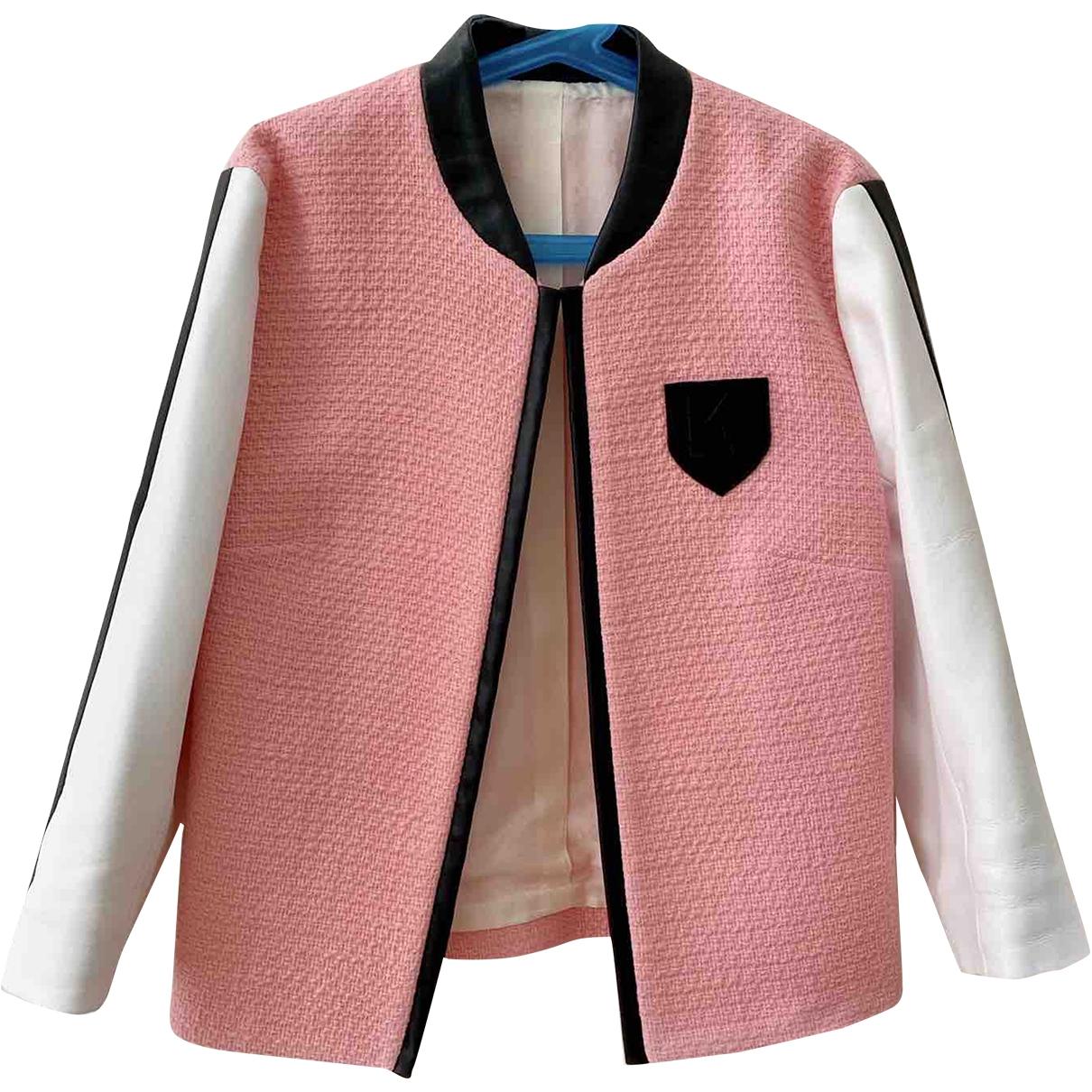 Karl \N Multicolour Cotton jacket for Women 38 IT