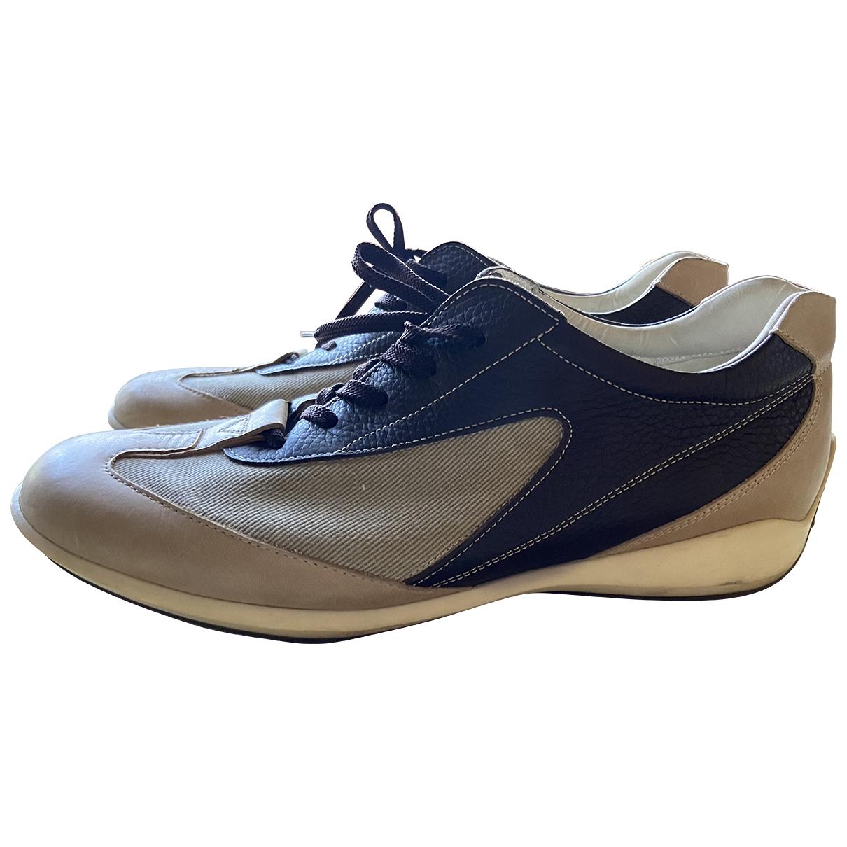 Tods \N Sneakers in  Beige Veloursleder