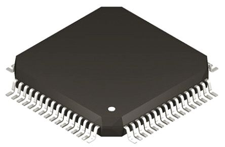 Silicon Labs C8051F045-GQ, 8bit 8051 Microcontroller, C8051F, 25MHz, 64 kB Flash, 64-Pin TQFP