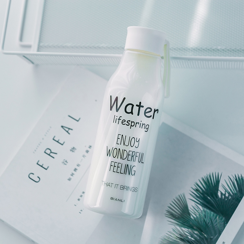 Ericdress Leakage-Proof PP/PC Creative Gifts Lover 520ML Water Cup