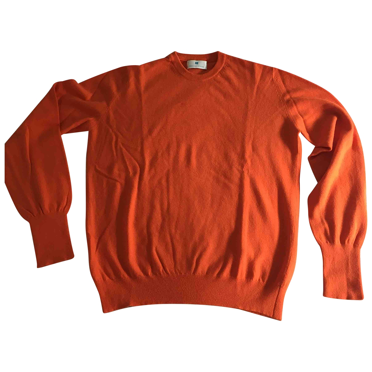 Ballantyne \N Pullover.Westen.Sweatshirts  in  Orange Kaschmir