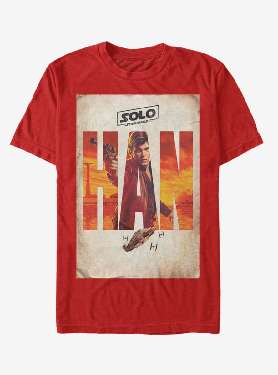 Solo: A Star Wars Story Solo Western Poster T-Shirt