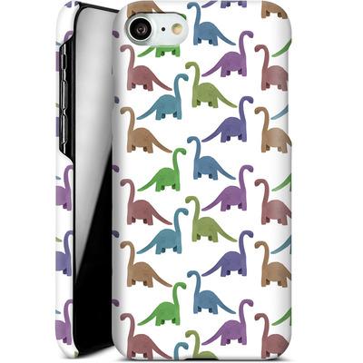 Apple iPhone 7 Smartphone Huelle - Cute Dinosaurs von Becky Starsmore