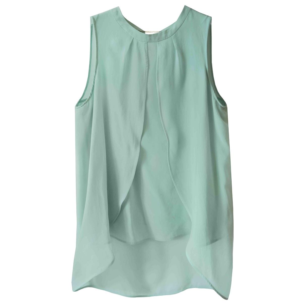 Marella \N Green Silk  top for Women S International