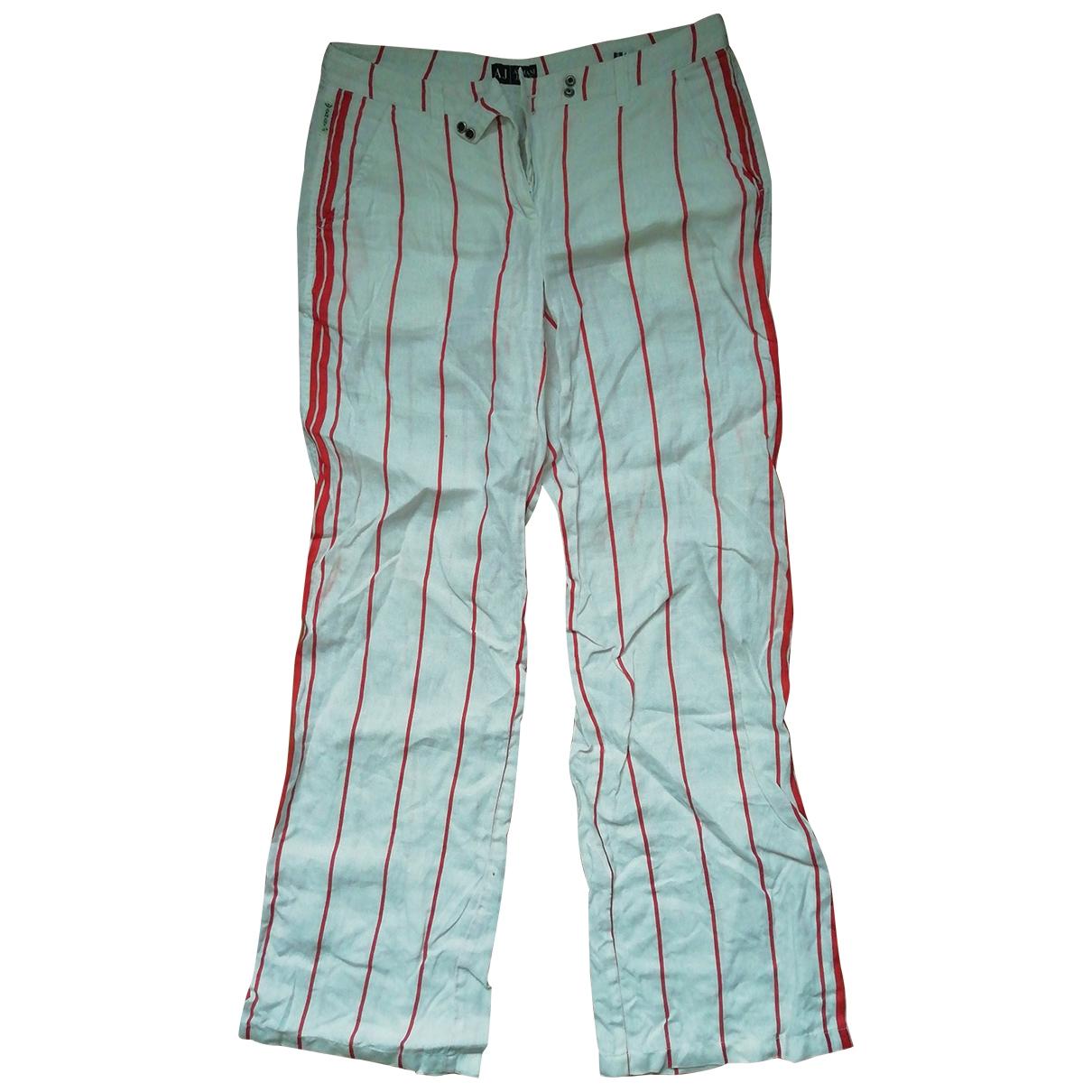 Pantalon de Lona Armani Jeans