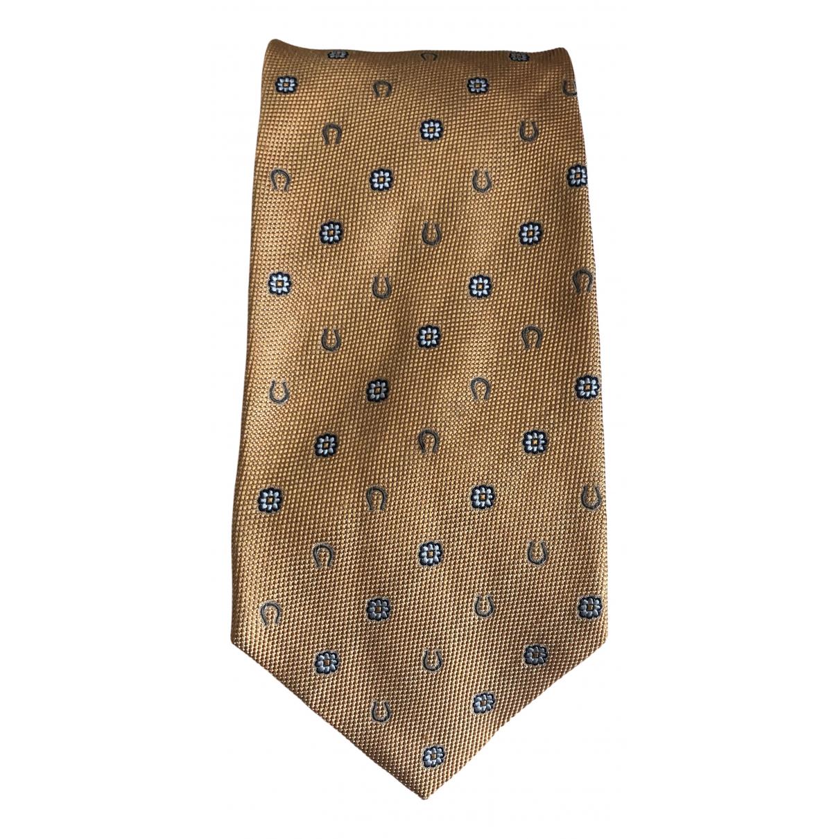 Longchamp - Cravates   pour homme en soie - multicolore