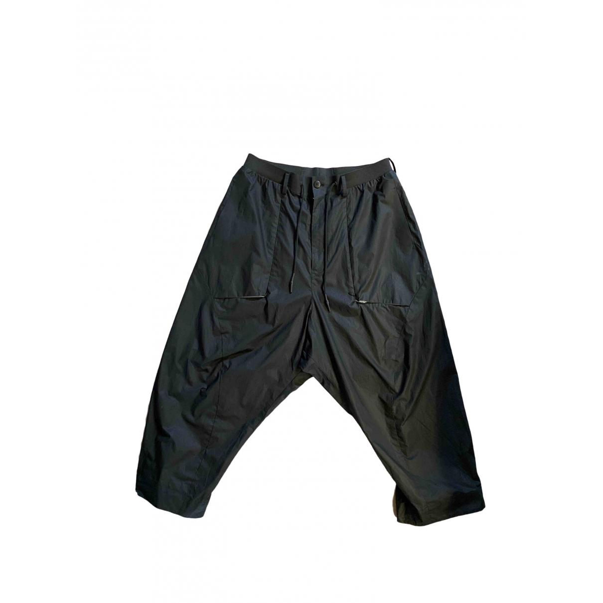 Y-3 \N Black Trousers for Men L International