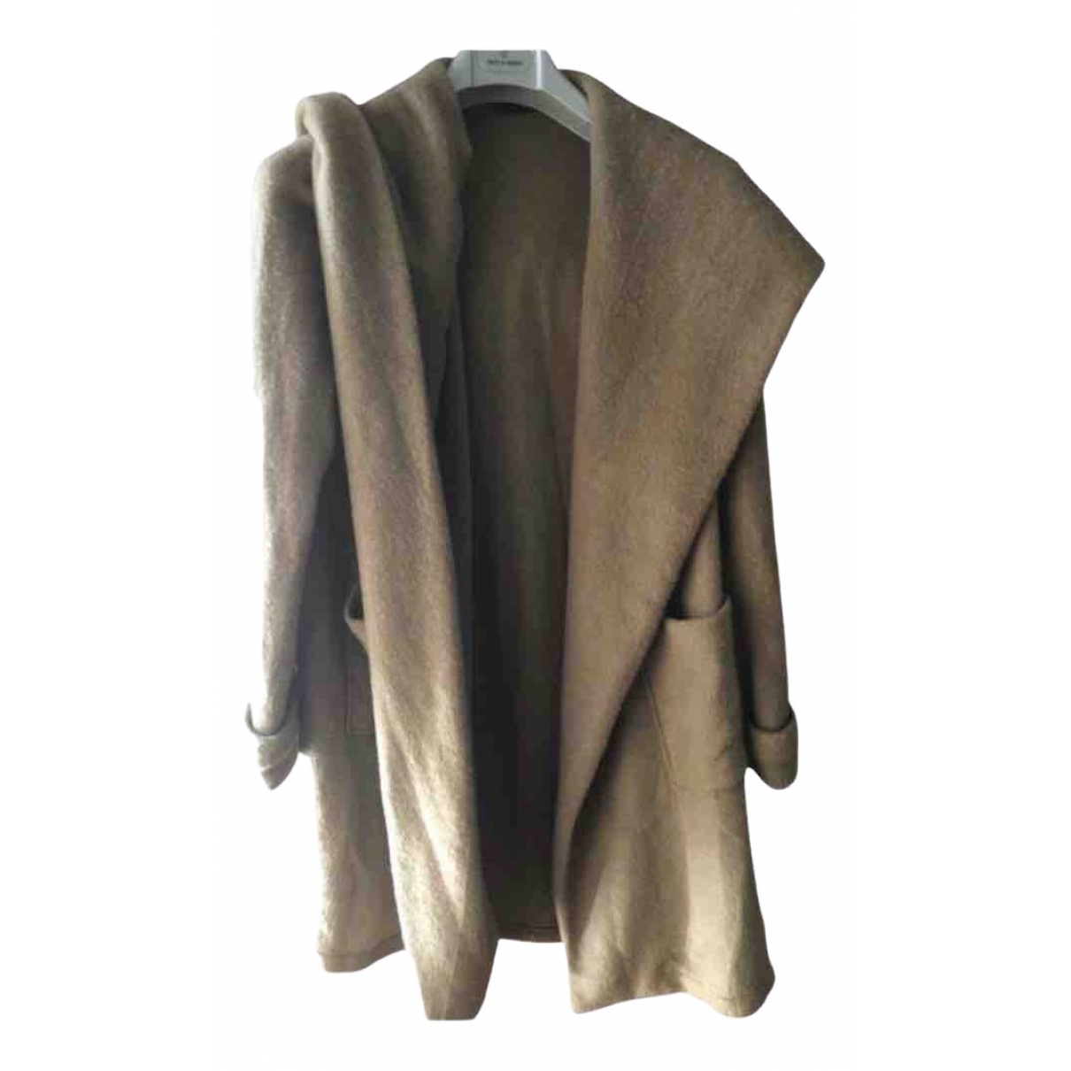 Non Signé / Unsigned \N Camel Wool coat for Women S International