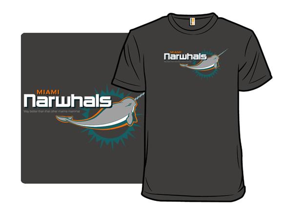 Miami Narwhals T Shirt