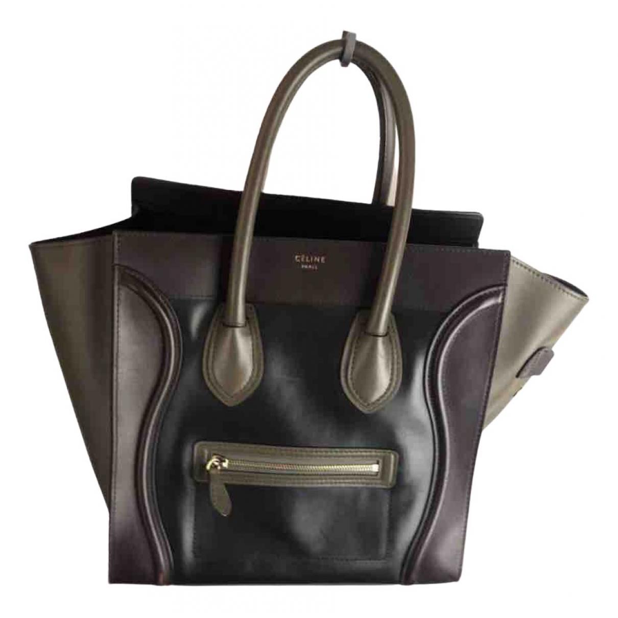 Celine Luggage Brown Leather handbag for Women N