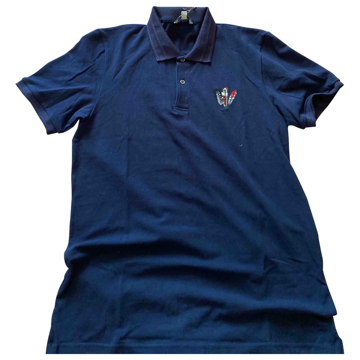 Paul & Joe - Polos   pour homme en coton - bleu
