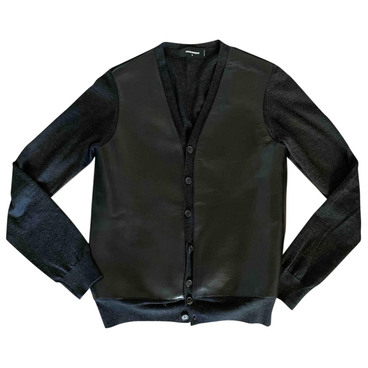 Dsquared2 - Pulls.Gilets.Sweats   pour homme en laine - noir