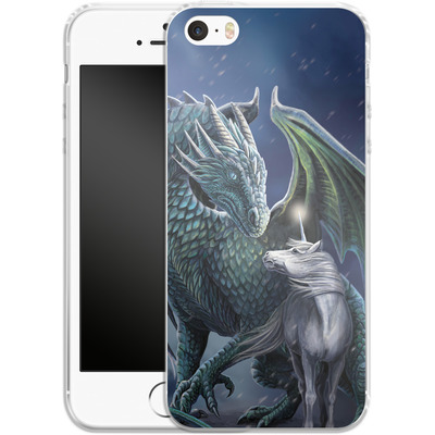 Apple iPhone 5s Silikon Handyhuelle - Protector of Magic von Lisa Parker