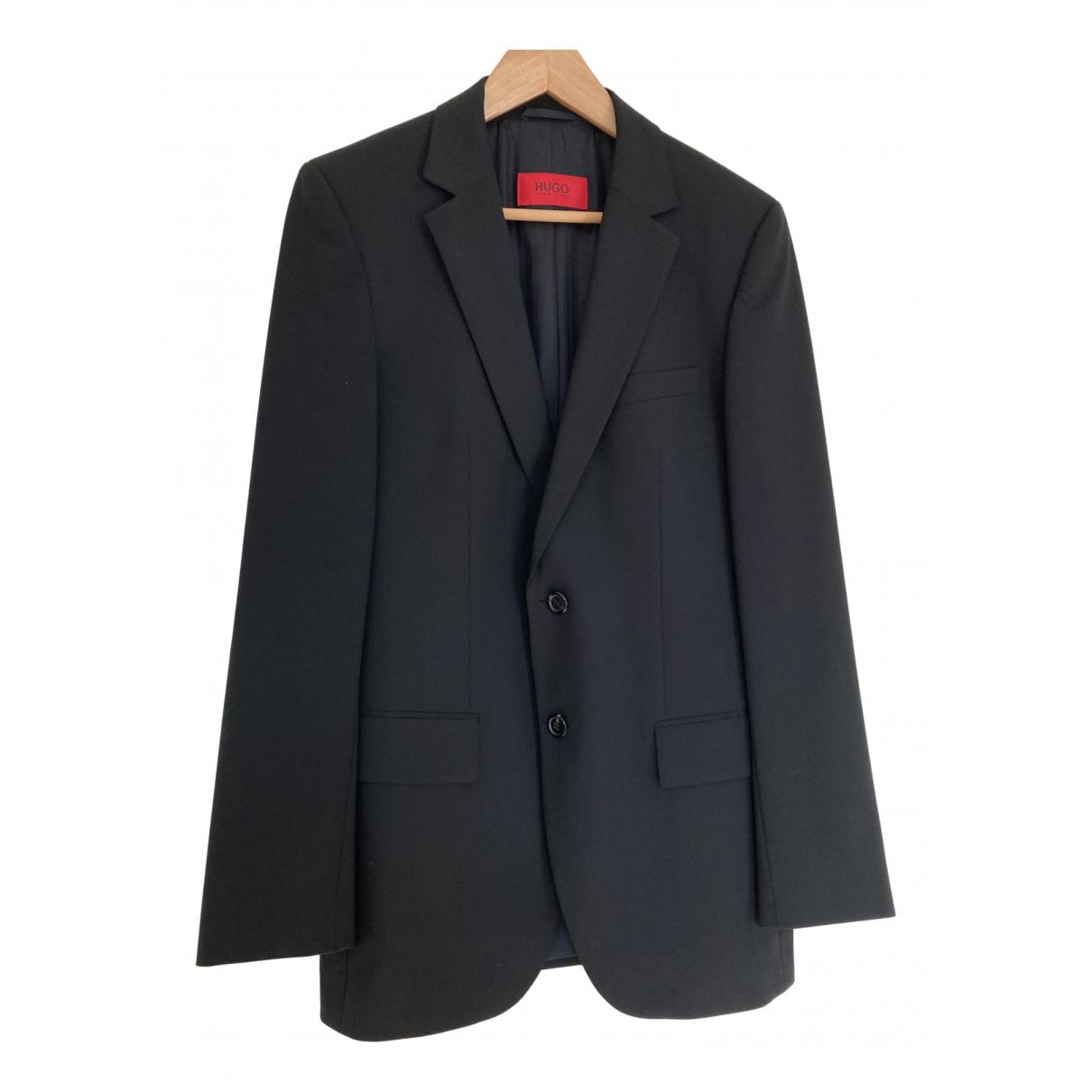 Hugo Boss N Black Wool Suits for Men S International