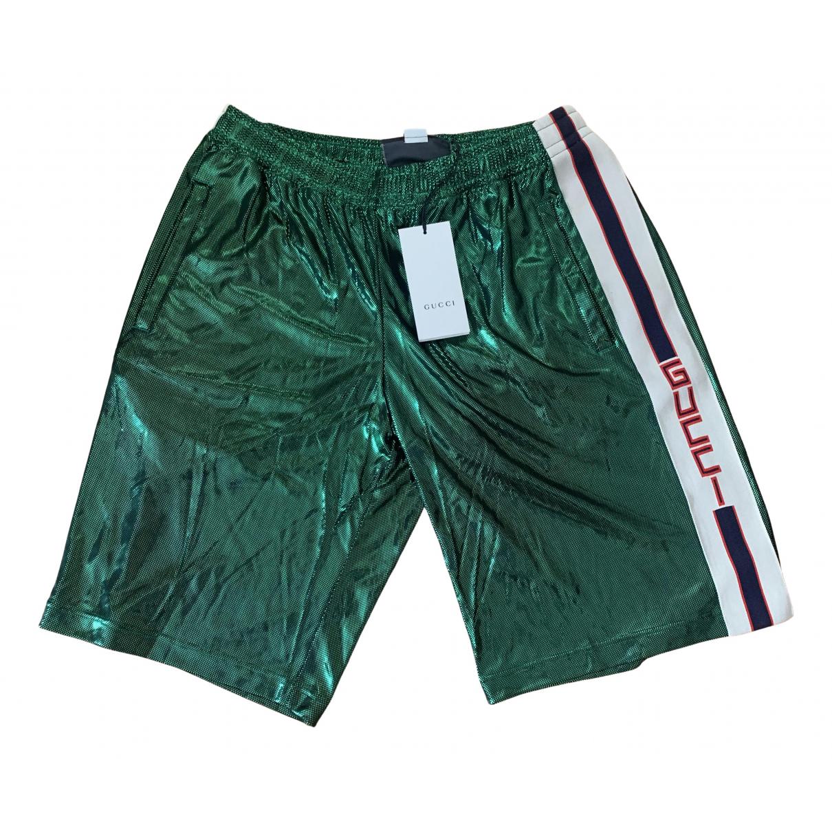 Gucci \N Green Shorts for Men M International