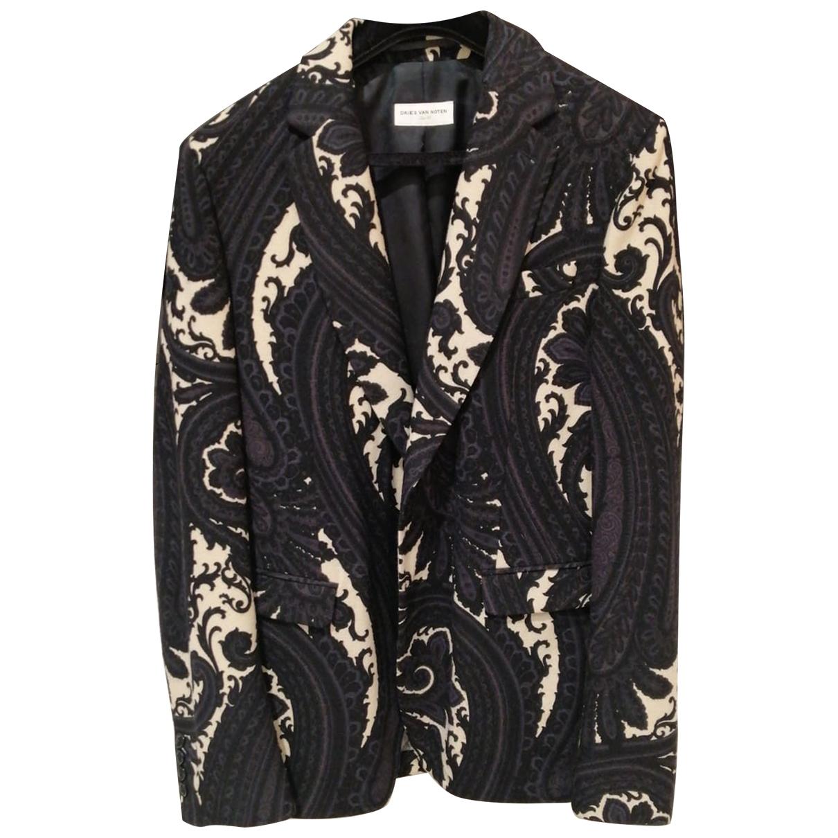 Dries Van Noten \N Black Wool jacket  for Men M International