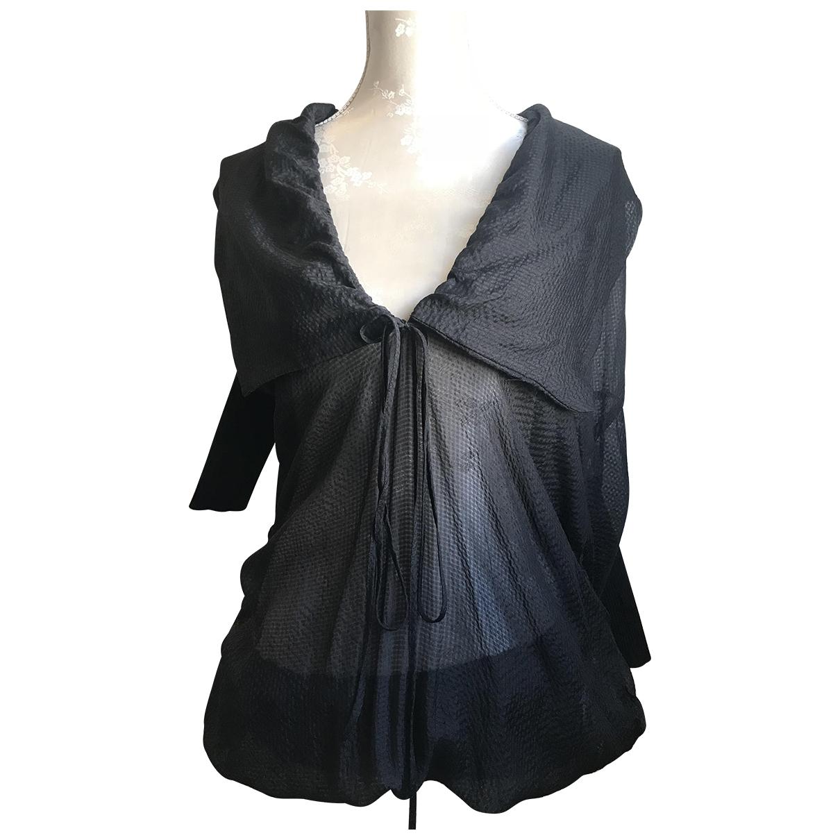Vivienne Westwood Anglomania - Top   pour femme en soie - noir