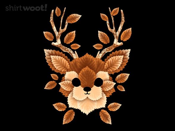 Deer Leaves T Shirt