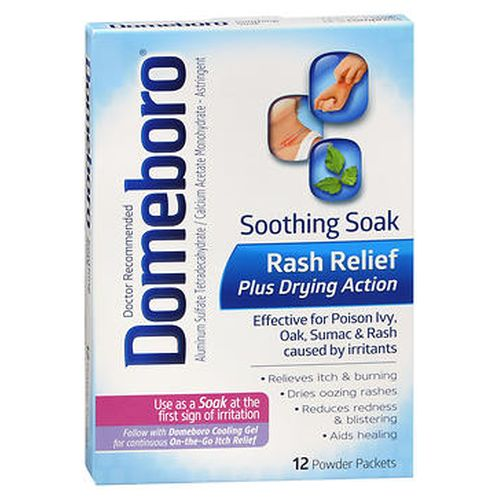 Domeboro Soothing Soak Powder Packets 12 Each by Domeboro