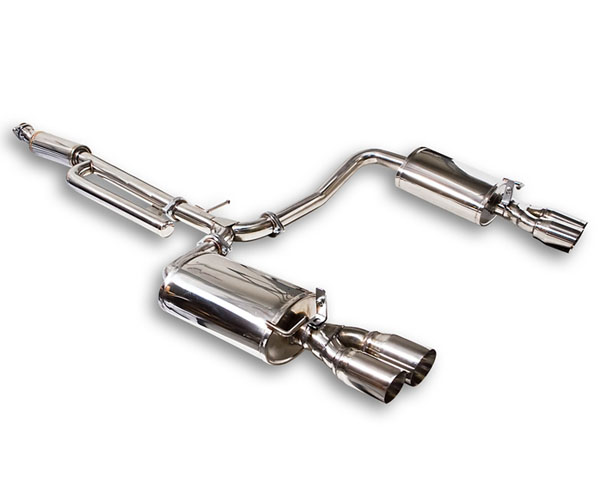 ARK SM0802-0111D Stainless DT-S Catback Exhaust w/Polished Tips Kia Optima 11-13