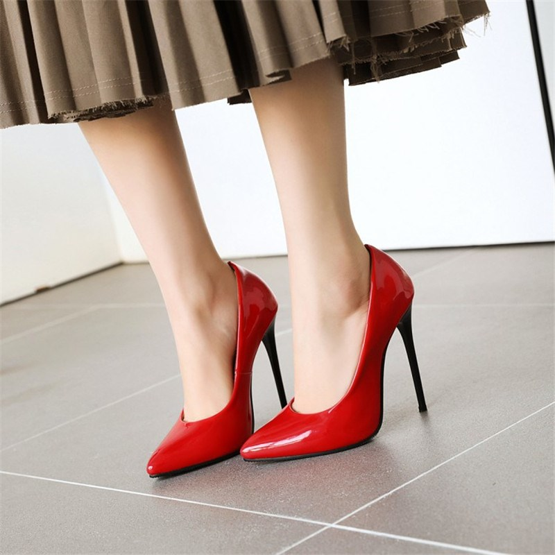 Ericdress Pointed Toe Slip-On 12cm Thin Shoes